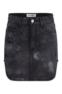 Denim mini skirt, Denim skirts The Attico woman