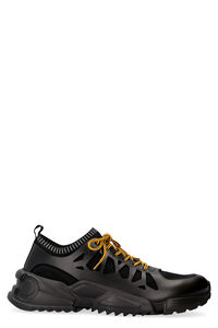 Raintop techno-fabric and leather sneakers, Low Top Sneakers Salvatore Ferragamo man