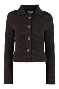 Cardigan with metal buttons, Cardigan Bottega Veneta woman