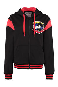 Full zip hoodie, Zip-up sweatshirts Moschino woman