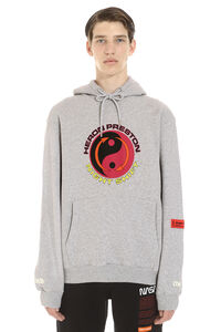 Tao cotton hoodie, Hoodies Heron Preston man