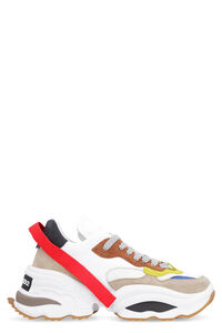 The Giant leather sneakers, Low Top Sneakers Dsquared2 man