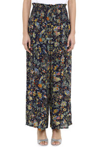 Printed wide-leg trousers, Wide leg pants Tory Burch woman