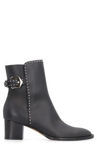 Elegant studded leather ankle boots, Ankle Boots Givenchy woman