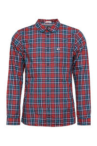 Long sleeve cotton shirt, Checked Shirts Tommy Jeans man