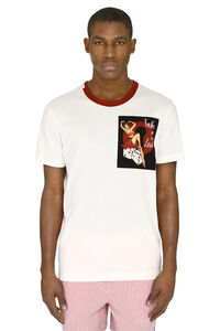 Cotton t-shirt with patches, Short sleeve t-shirts Dolce & Gabbana man