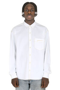 Simon cotton shirt, Plain Shirts Jacquemus man
