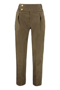 High-waist tapered-fit trousers, Tapered pants L'Autre Chose woman