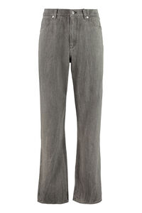 Formal Cut high-rise straight jeans, Straight jeans Our Legacy man