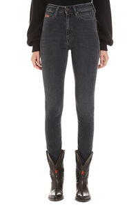High-rise skinny-fit jeans, Skinny Leg Jeans CALVIN KLEIN JEANS EST. 1978 woman