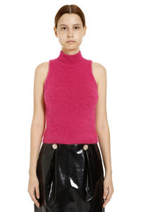 Knitted top, Crop tops Versace woman