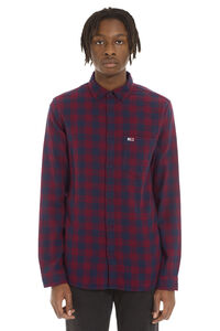 Gingham cotton shirt with button-down collar, Checked Shirts Tommy Jeans man