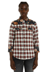 Cotton cowboy shirt, Shirts R13 woman