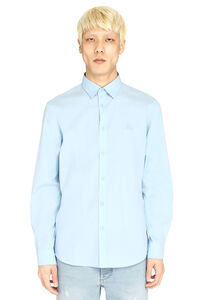 Stretch poplin shirt, Plain Shirts Burberry man