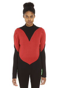 Intarsia turtleneck sweater, Turtleneck sweaters GCDS woman