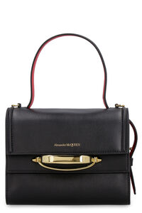 The Story leather handbag, Top handle Alexander McQueen woman
