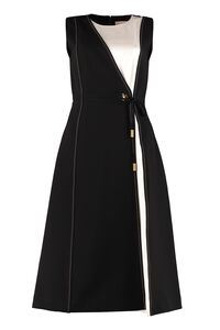 Color-block wrap dress, Knee Lenght Dresses Tory Burch woman