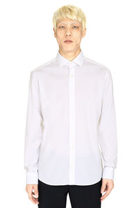 Stretch poplin shirt, Plain Shirts Z Zegna man