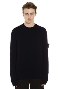 Ribbed crew-neck sweater, Crew necks sweaters Stone Island man