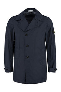 Trench coat corto in nylon, Trench Stone Island man