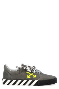 Sustainable Low Vulcanized leather sneakers, Low Top Sneakers Off-White man