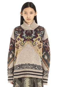 Jacquard sweater, Patterned sweaters Etro woman