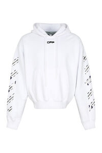 Printed cotton hoodie, Hoodies Off-White man