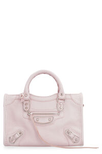 Nano City Classic leather handbag, Top handle Balenciaga woman