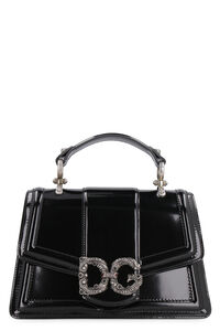 DG Amore leather handbag, Top handle Dolce & Gabbana woman
