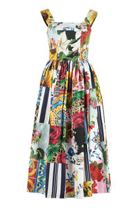 Printed cotton maxi dress, Printed dresses Dolce & Gabbana woman