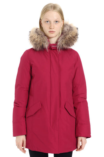 Arctic padded parka with fur hood