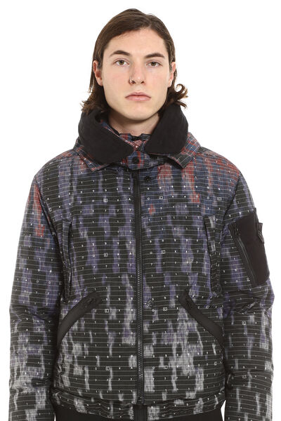 Shadow Project hooded padded bomber jacket