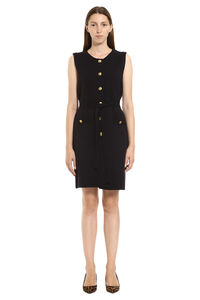 Belted knit dress, Mini dresses Tory Burch woman