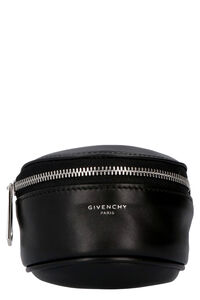 Logo charm leather bracelet, Jewelry Givenchy man