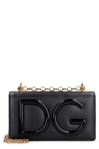 DG Girls leather phone holder, Shoulderbag Dolce & Gabbana woman