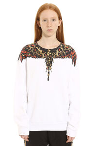 Cotton crew-neck sweatshirt, Sweatshirts Marcelo Burlon County of Milan woman