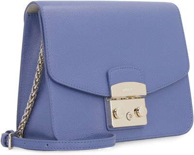 Metropolis leather crossbody bag