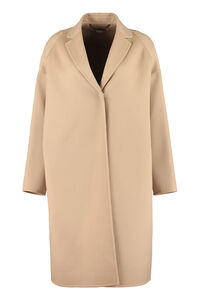 Single-breasted wool coat, Knee Lenght Coats Stella McCartney woman