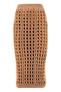Interlock knit skirt, Pencil skirts Fendi woman