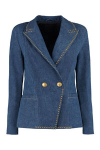 Nicky denim blazer, Blazers Pinko woman