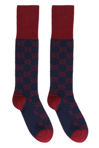 GG motif cotton socks, Socks Gucci woman