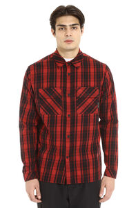 Checked cotton shirt, Checked Shirts Marcelo Burlon County of Milan man