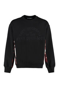 Embroidered cotton sweatshirt, Sweatshirts Dolce & Gabbana man