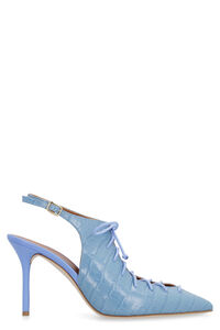 Alessandra leather slingback pumps, High Heels Malone Souliers woman