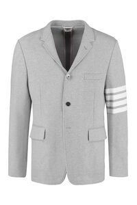 Cotton piqué blazer, Single breasted blazers Thom Browne man