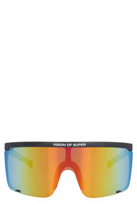Visor sunglasses, Sunglasses Vision of Super man