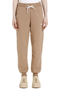 Cotton sweatpants, Track Pants MSGM woman
