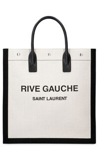 Logo detail tote bag, Totes Saint Laurent man