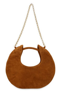 Borsa Luna in suede, Borse a mano by FAR woman