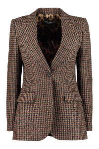 Wool blend single-breasted blazer, Blazers Dolce & Gabbana woman